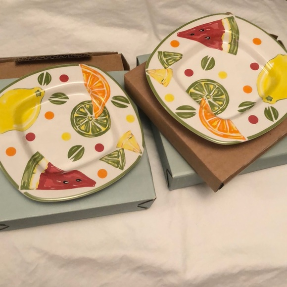 Set of two PartyLite Summer Fest Candle Holders